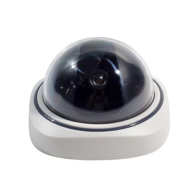 """Муляж камеры видеонаблюдения """"Белый купол"""""""
