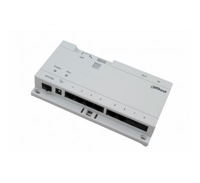 Passive PoE 6 портовый коммутатор для IP домофонных систем Dahua DH-VTNS1060A
