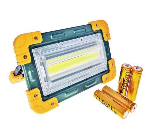 Прожектор аккумуляторный LED 30W COB Bright Light