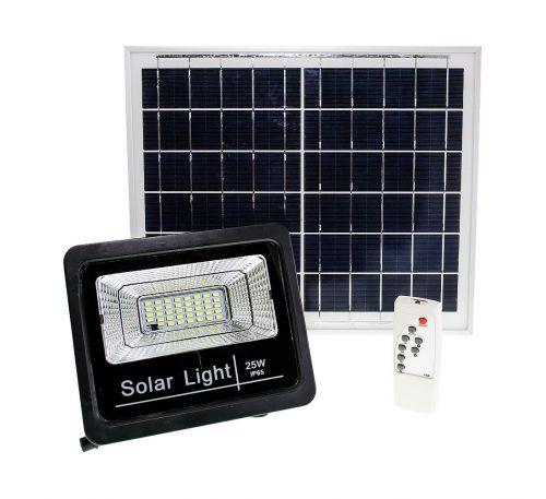 Прожектор на солнечной батарее LED NEOMAX 25W с пультом