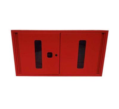 Щит пожарный закрытого типа (с комплектацией багор/лом/лопата/топор/ведро)