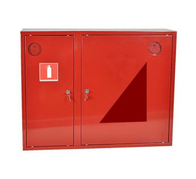 Шкаф пожарный ШПК-315 НО навесной с задней стенкой 600х800х230мм