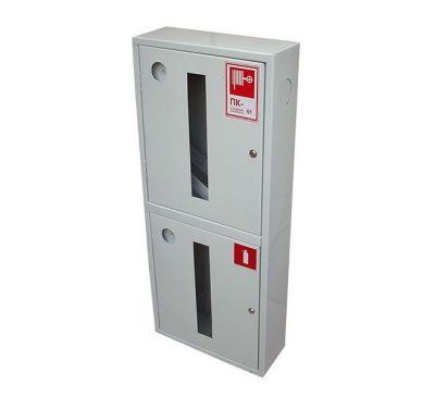 Шкаф пожарный ШПК-320 ВО встроенный с задней стенкой 1300х600х230мм