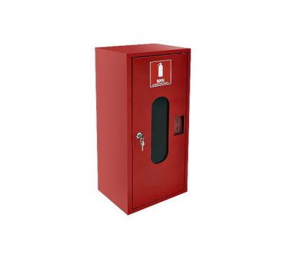 Шкаф пожарный ШПО-310 НО навесной с задней стенкой 700х300х200мм