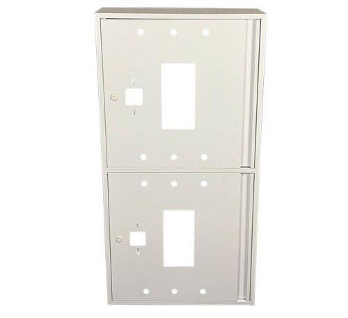 Шкаф пожарный ШП 60120 У навесной, без задней стенки, без кассеты, Белый, 600х1200х230