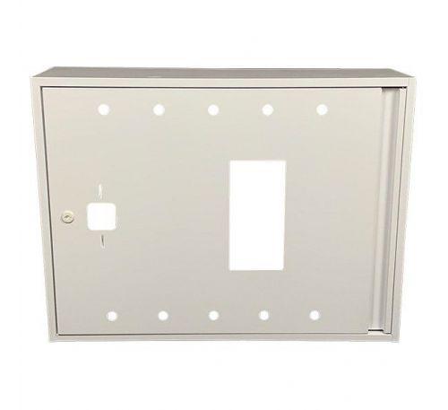 Шкаф пожарный ШП 8060 У навесной, без задней стенки, без кассеты, Белый, 800х600х230