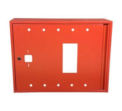 Шкаф пожарный ШП 8060 У навесной, без задней стенки, без кассеты, Красный, 800х600х230