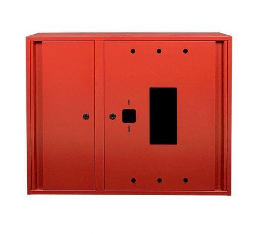 Шкаф пожарный ШП 9070 У-С навесной, с задней стенкой, без кассеты, Красный, 900х700х230