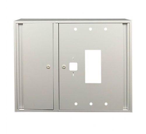 Шкаф пожарный ШП 9070 У навесной, без задней стенки, без кассеты, Белый, 900х700х230