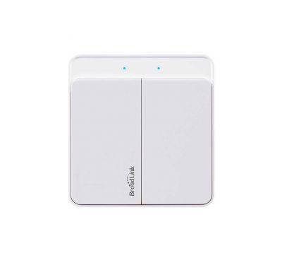 Wi-Fi выключатель Broadlink TW-2 (две кнопки)