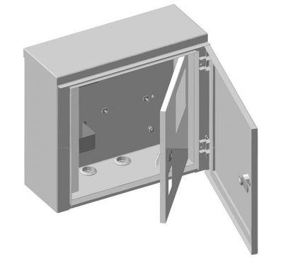 Ящик учета и распределения электроэнергии ЯУР-1Г-4 навесной, 350x310x150