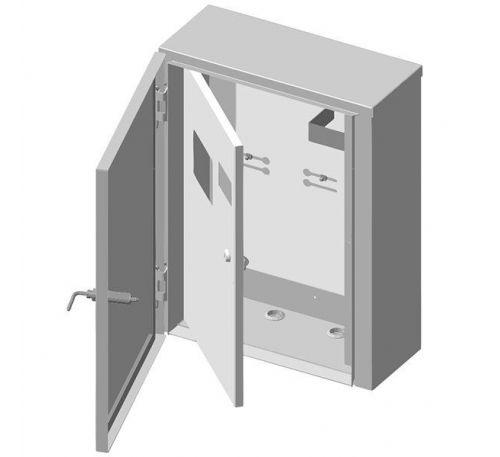 Ящик учета и распределения электроэнергии ЯУР-3А-4 (антивандальный) навесной, 410x550x190