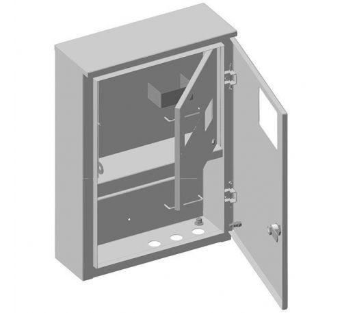 Ящик учета и распределения электроэнергии ЯУР-У3-12 навесной, 340x500x127