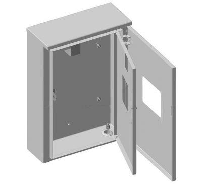 Ящик учета и распределения электроэнергии ЯУР-У3 навесной, 300x411x117