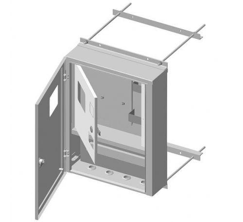 Ящик учета и распределения электроэнергии ЯУР-У4-16К навесной, 400x529x136
