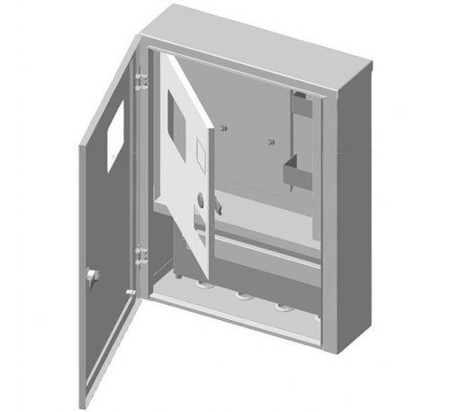 Ящик учета и распределения электроэнергии ЯУР-У4-16 навесной, 400x529x136