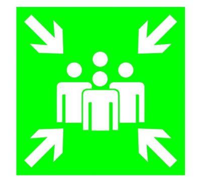Знаки эвакуационные