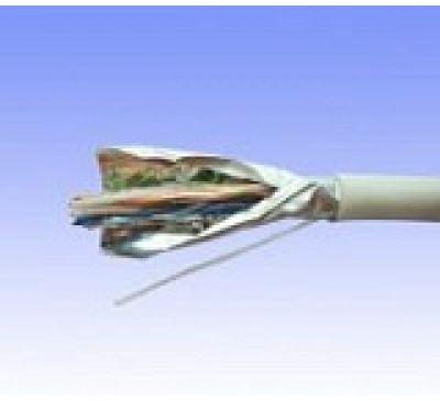Кабель FTP 5-Е Solid (4 пары, одножильные+фольга),